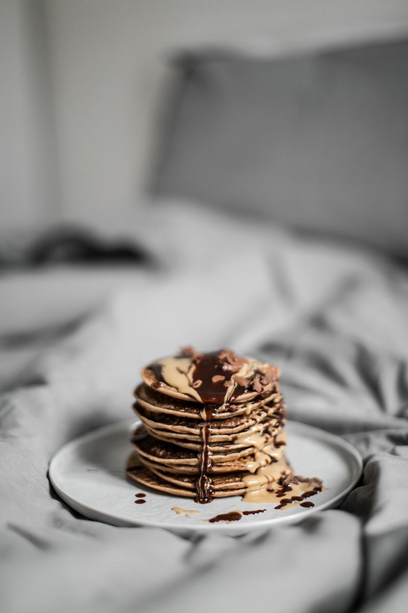 reismilch pancakes vegan