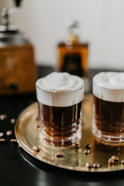 dark single malt irish coffee