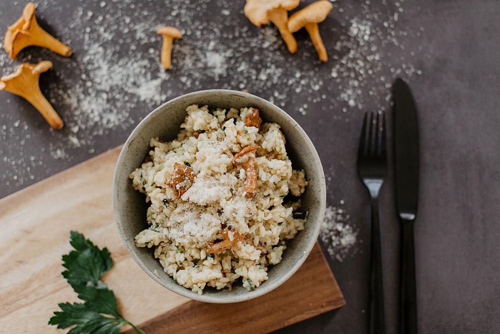 eierschwammerl risotto